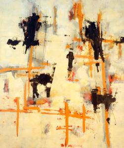 Ohne Titel, 120 x 100 cm, Acryl auf Leinwand