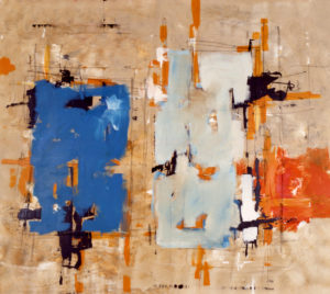 Ohne Titel, 160 x 180 cm, Acryl auf Leinwand