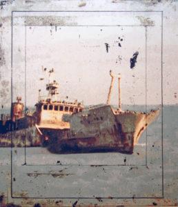 Die Reise des Li Zhaoxing, 150 x 133 cm, Acryl auf Leinwand