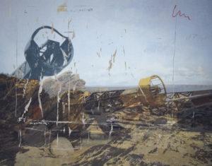 17° NW, 180 x 235 cm, Acryl auf Leinwand