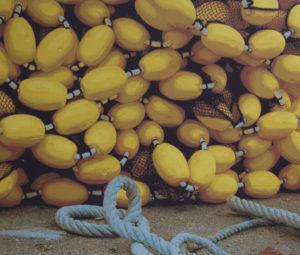 Geschlossene Gesellschaft, 120 x 140 cm, Acryl auf Leinwand