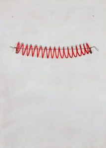Hängung (Spirale), 70 x 50 cm, Fotocollage