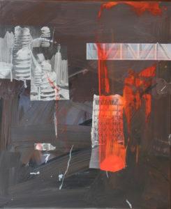 Vertigo 2401, 60 x 50 cm, Acryl auf Leinwand