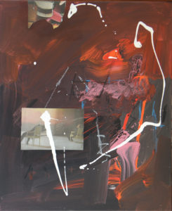 Vertigo 2404, 60 x 50 cm, Acryl auf Leinwand