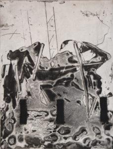 Vertigo 071904, 40 x 30 cm, Carborundum/Kaltnadel