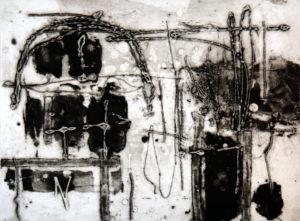 Waterloo, 30 x 40 cm, Carborundum