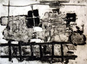 Southwark, 30 x 40 cm, Carborundum